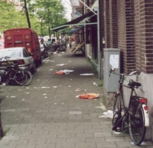 Is vervuiling door de bewoners het probleem?